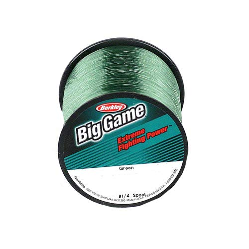 Berkley Trilene Big Game Monofilament Fishing Line Green (595 Yd/25-Lb Test)