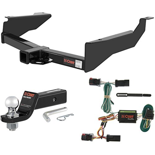 CURT Class 3 Trailer Hitch Tow Package with 2