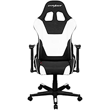 DXRacer Formula Series DOH/FD101/NW Newedge Edition Office Chair Gaming Chair Ergonomic Computer Chair eSports Desk Chair Executive Chair Furniture with Free Cushions (Black/White)