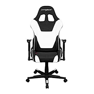 DXRacer Formula Series DOH/FD101/NW Newedge Edition Office Chair Gaming Chair Ergonomic Computer Chair eSports Desk Chair Executive Chair Furniture with Free Cushions (Black/White)