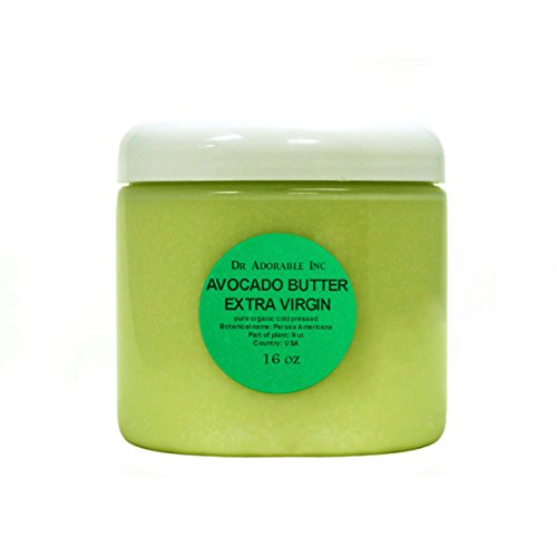 Avocado Butter Extra Virgin Unrefined By Dr.Adorable Pure Ra