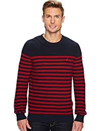 Men's Long Sleeve Classic Bretton Stripe Sweater