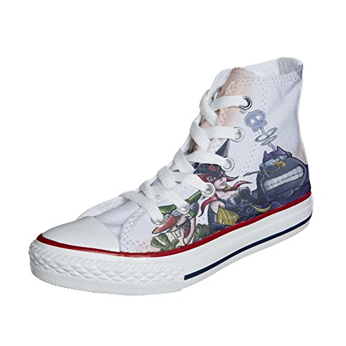 Converse All Star zapatos personalizados (Producto Artesano) Cartoon Old S