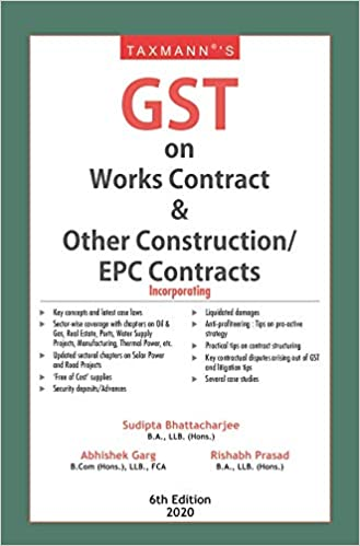 gst works contract