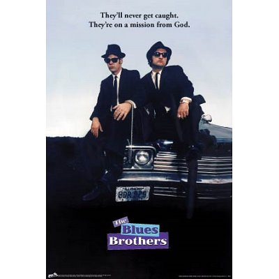 blues brothers movie print