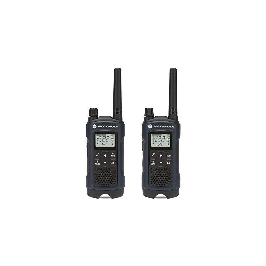 Motorola T460 Rechargeable 2 Way Radio (Dark Blue)