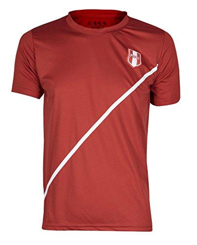Rass Sport Soccer Jersey Copa America Centenario - PERU - MDYG0176-RED-S/M (Us Soccer Centennial compare prices)
