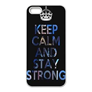 Custom New Cover Case for Iphone 5,5S, Stay Strong Phone Case - HL-R656775