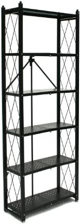 picture of Origami 6-Shelf Bookcase | Open Style, Organizer Deco Rack, Large