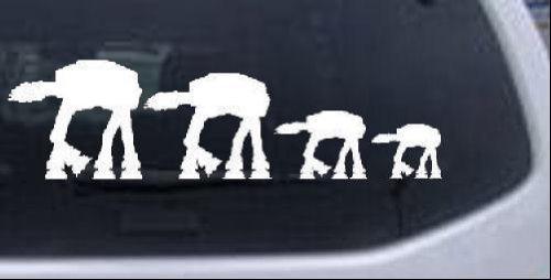 Family Cartoons Window Laptop Sticker