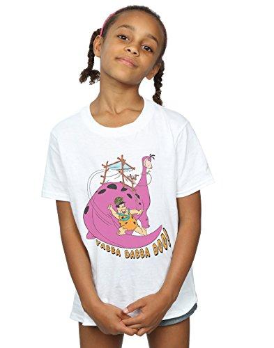 The Flintstones Girls Yabba Dabba Doo T-Shirt 12-13 Years White