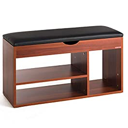 Mr IRONSTONE Shoe Bench Entryway