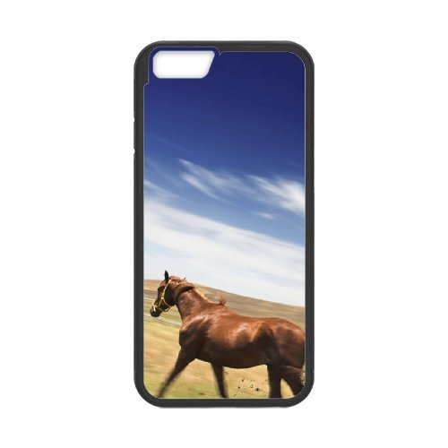 "SYYCH Phone case Of Blue sky meadow and Horse Cover Case For iPhone 6 (4.7"")"
