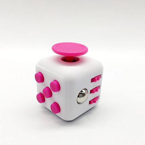 CHIRISEN Fidget Toy Relieves Stress And Anxiety for Children and Adults Anxiety Attention Toy (Pink)
