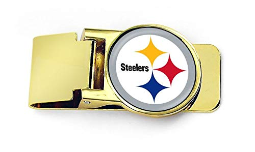(aminco NFL Pittsburgh Steelers Unisex InternationalNFL Classic Money Clip, Team Color,)