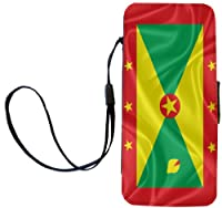 Rikki Knight Grenada Flag Flip Wallet iPhoneCase with Magnetic Flap for iPhone 5/5s - Grenada Flag