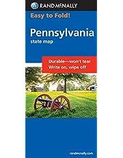 Rand McNally Easy to Fold: Pennsylvania (Laminated Fold Map)