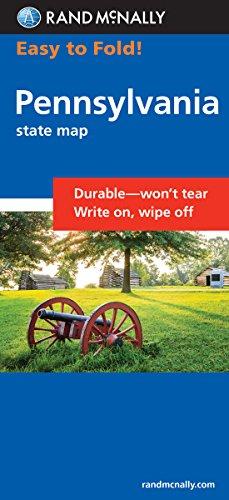 Easy To Fold: Pennsylvania (Rand McNally Easyfinder) -