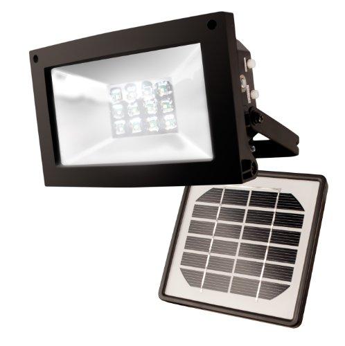 Maxsa 40330 Solar-Powered 10 Hour FloodlightfromMaxsa
