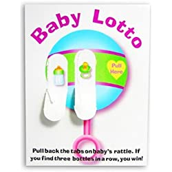 Fun Express Baby Shower Lotto Game Cards