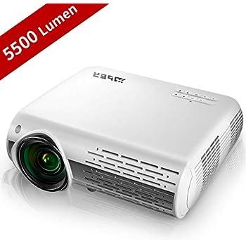 Amazon.com: Proyector de cine en casa, HDEYE nativo 1080p ...