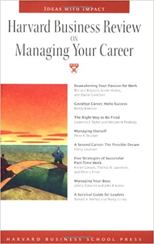 Harvard Business Review on Managing Your Career: Harvard Business ...