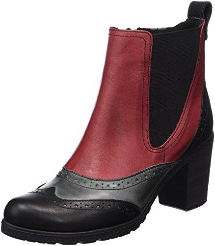 Andrea Conti Women's 1672707 Boots Multicolour (Schwarz/Bordo 233) fotYzusJ