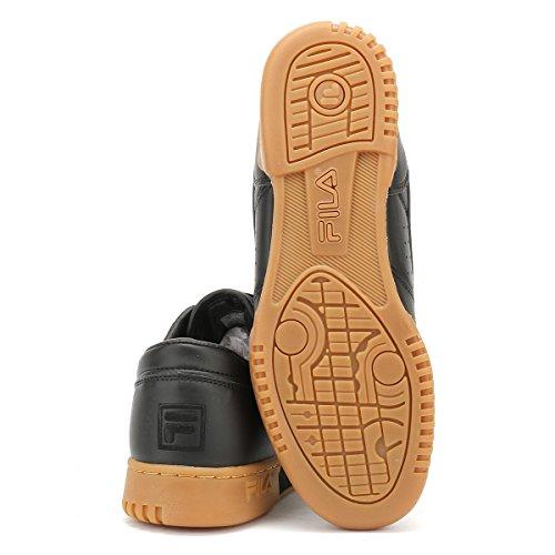 Fila Hommes Noir / Gum Original Fitness Premium Basket