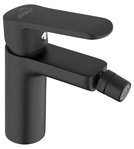 Bidet Lever Single Set - Bathroom Bidet Standing Faucet Mixer Single Lever Tap Black Powder Coated Brass