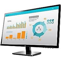 HP V272 27-inch Monitor, 1920 x 1080, 7ms, 1xDVI-D ; 1xVGA; 1xHDMI;1xDisplayPort (Certified Refurbished)
