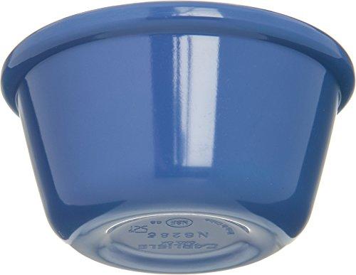 Carlisle S28514 Melamine Smooth Ramekin, 4 oz. Capacity, Ocean Blue (Case of 48) by Carlisle (Image #1)