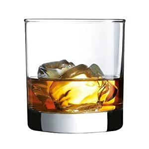 Luminarc Barcraft Straight Sided On The Rocks (Set of 4), 10.5 oz, Clear