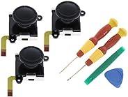 gazechimp 3 Pcs Joystick De Sensor Analógico + Ferramentas De Desmontagem Para Switch Joy-con