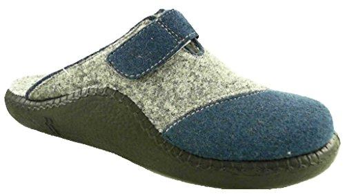 Mehrfarbig 541 Jeans Pantoffeln 143 541 kombi Unisex Mokasso Romika Erwachsene 4PzpOOX