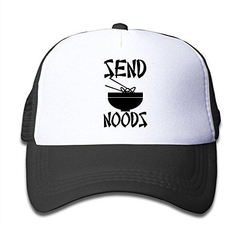 Headgear Mesh Cap - Swpxksmx Baby Send Noods - Noodles Nudes Pun Meme Mesh headgear Black