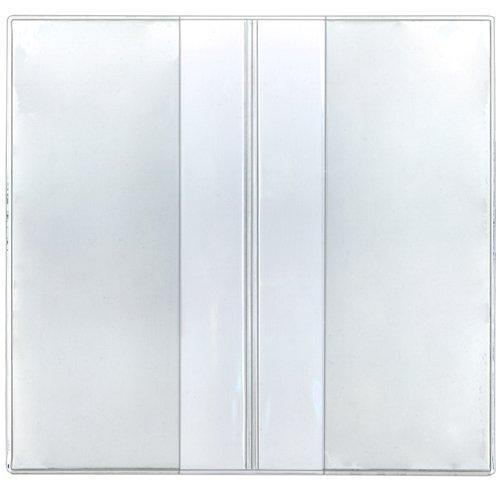 StoreSMART - Clear Plastic Checkbook Holders - 100 Pack - RSPC300-100