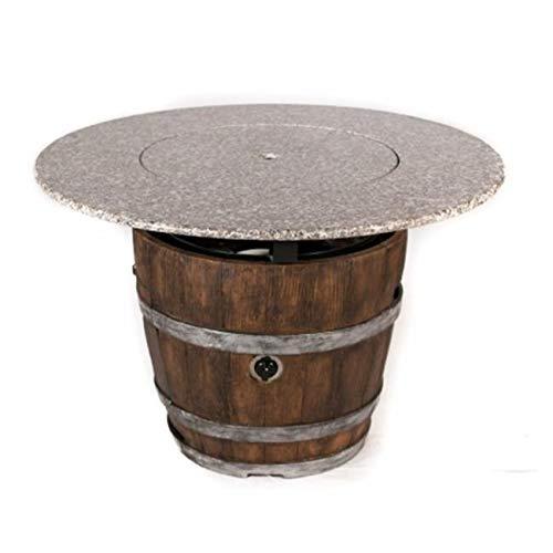 (Jur_Global 42 in. Diameter Granite Table Top)
