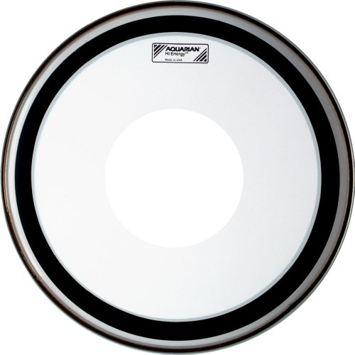 Aquarian Drumheads HE12 Hi-Energy 12-inch Snare Drum Head, with Dot
