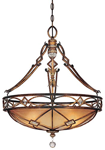 Minka Lavery 3 Light Aston Court Bronze Up Pendants