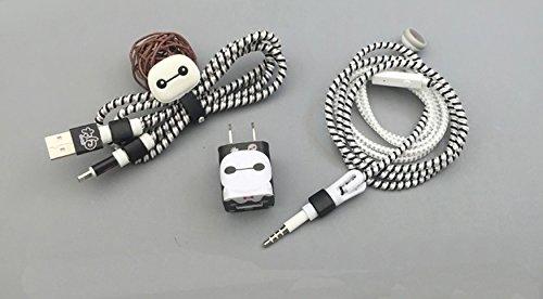 Cartoon Spiral Protectors Earphone Baymax product image