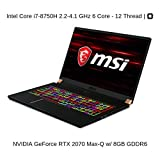 HIDevolution MSI GS75 8SF Stealth-1025 (MS-GS751025-HID6) technical specifications
