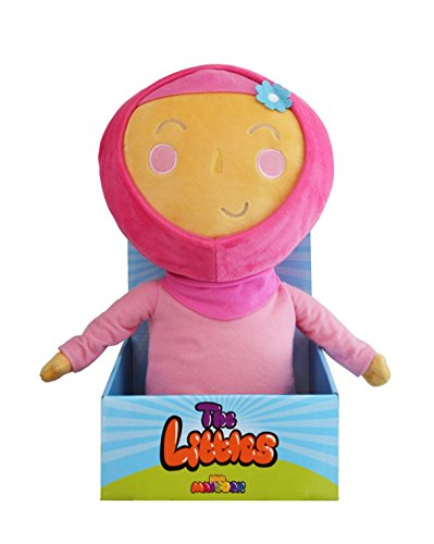 Little Maysoor Maryam Plush Doll - Big, Huggable, and Absolutely Adorable - Makes A Fun Companion for Any Little Muslim / Muslimah Ages 3 and Up - Perfect Islamic Gift! -