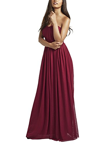 lipsy sweetheart maxi dress - 1