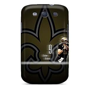 Hot Design Premium KQL1255zgPs Tpu Case Cover Galaxy S3 Protection Case(new Orleans Saints)