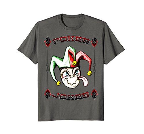 Poker Joker Gambling Dealer Player Holdem Casino T-Shirt