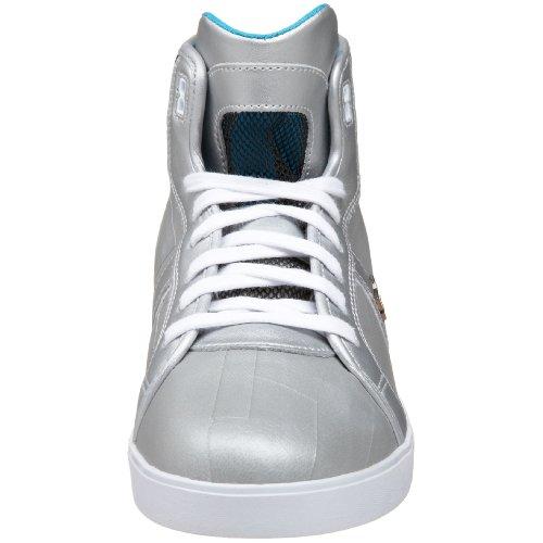 Dc Mens Xander Sneaker Metallizzato Argento / Nero