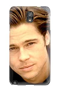 5061652K53116275 Awesome Case Cover/galaxy Note 3 Defender Case Cover(brad Pitt)