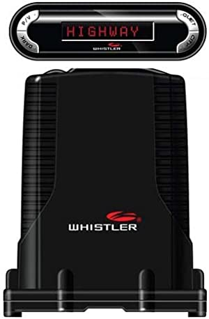 Whistler PRO-3600 High Performance Laser Radar Detector: 360 Degree Protection and Voice Alerts