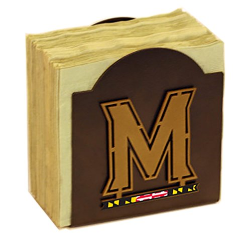 Henson Metal Works 506-47 Univ of Maryland logo Classic Napkin Holder