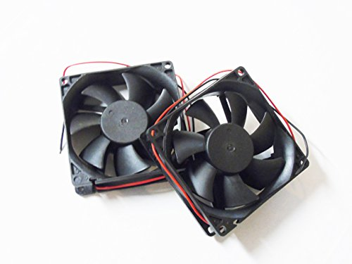 Pair Packed 3 Inch 12VDC 12 Volt Car Truck Cooling Fans (For Fan Amplifier Cooling)